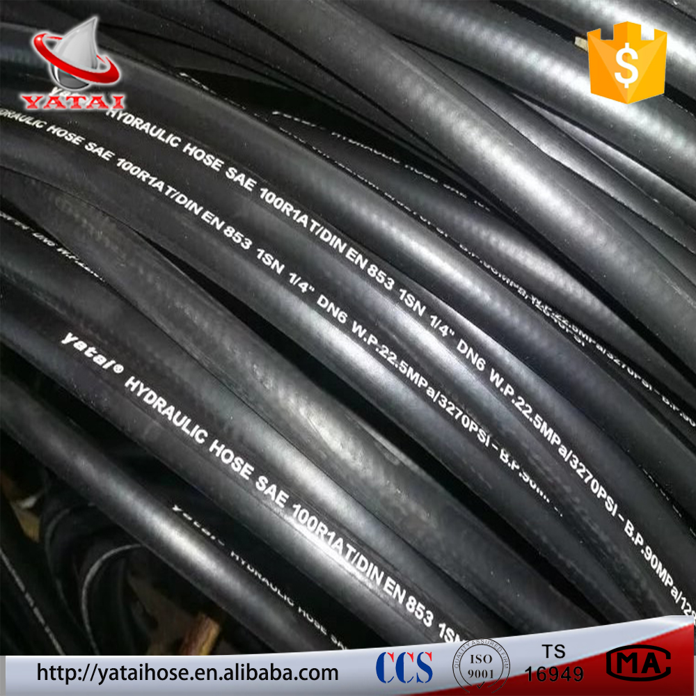 High Pressure Heat Resistant Steel Wire Braid Hydraulic Rubber ...