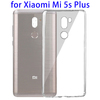 0.75mm Ultra-thin Transparent TPU Protective Case for Xiaomi Mi 5s Plus Cover
