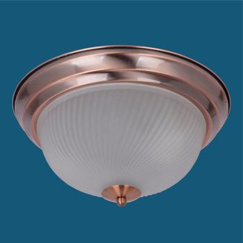 Scl104 Aluminum Glass Led Flush Mount Ceiling Light
