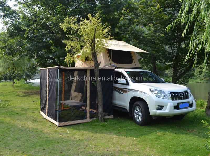 suv toit top tente avec c t auvent tente de toit de la voiture camping tente id de produit. Black Bedroom Furniture Sets. Home Design Ideas