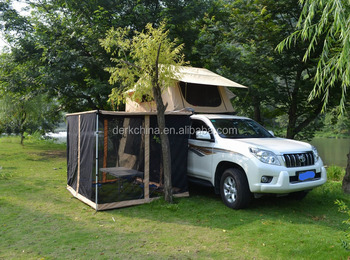 SUV Roof Top Tent With Side Awning Car Camping