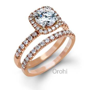 y00224 hot sale gold plating engagement rings for womenpular tungsten diamond engagement rings - Wedding Rings For Sale