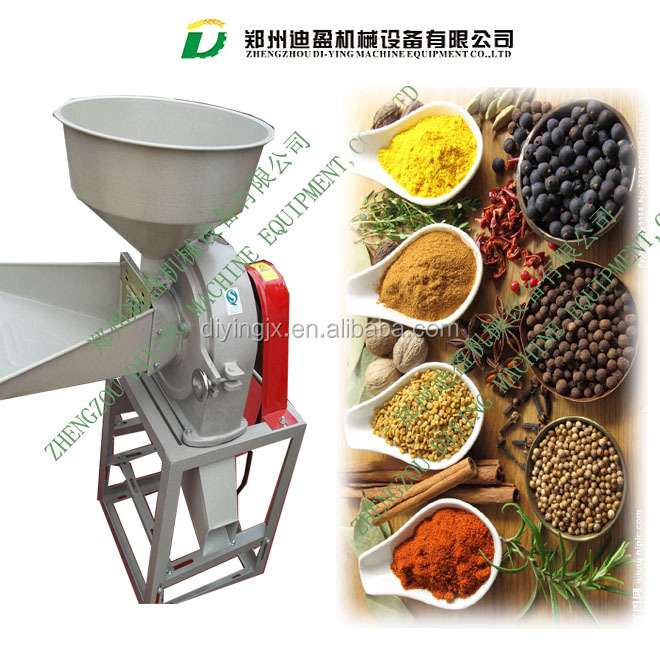 dry portable Small Flour Grinding machine/small flour milling machine/dried mustard seeds grinding machine