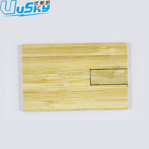 Credit Card Wood Usb, Wooden Usb Business Card, Custom Shaped Usb Flash Drive