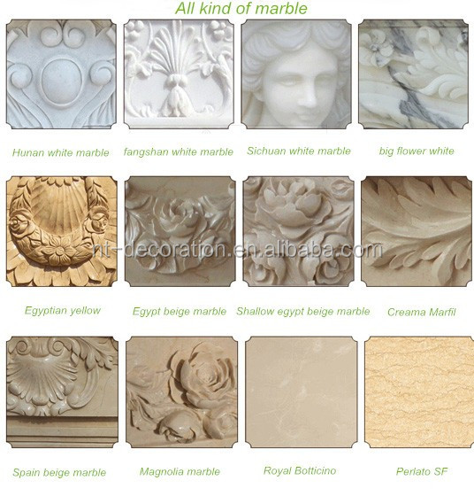 all kind of marble