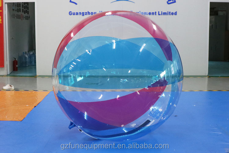 Colour Inflatable Water Balloon Not Easy Broken Floating Water Ball Inflatable Water Walking Ball in Toys Balls Factory Sale 2m