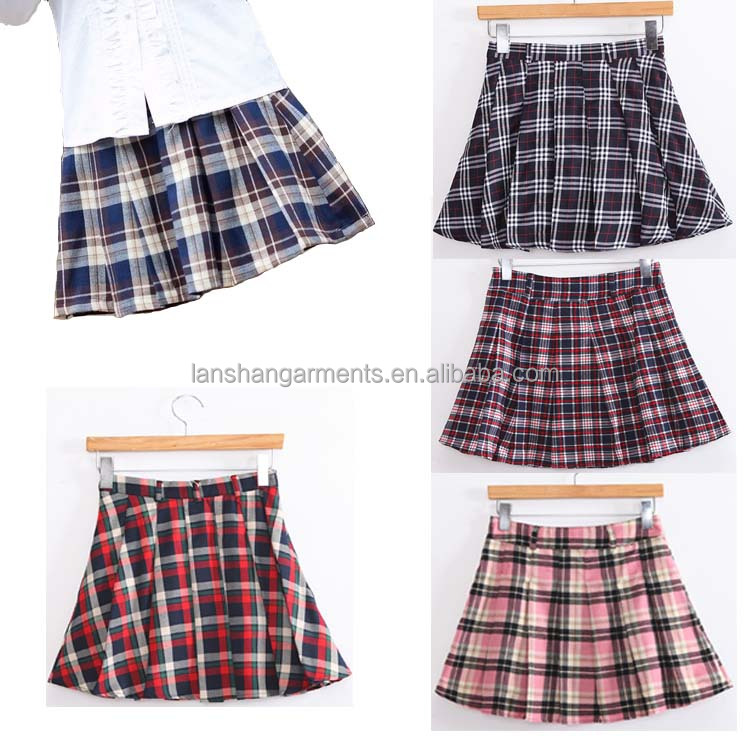 School Uniform Plaid Skirts, School Uniform Plaid Skirts Suppliers ...