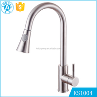 wholesale prices Deck mounted single handle kitchen sink stainless steel instant heating water faucet