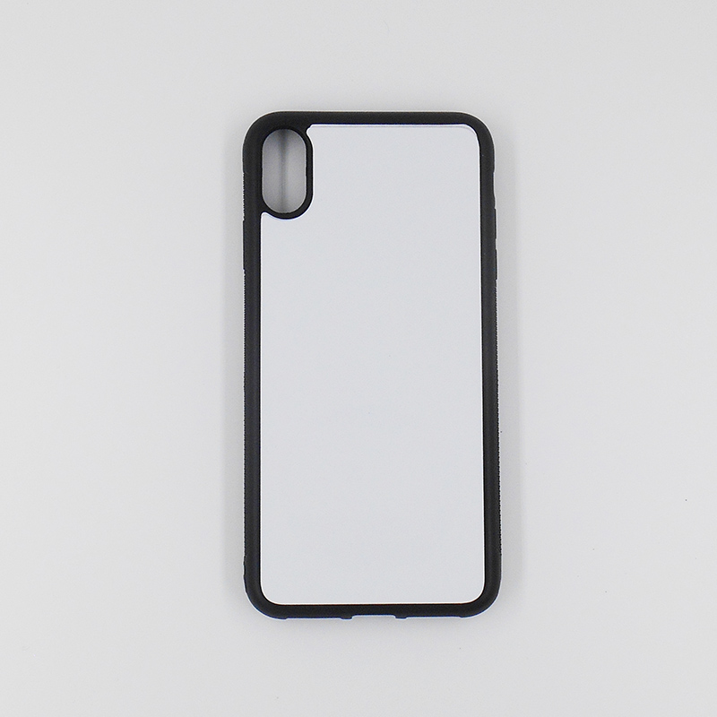 2D blank sublimation PC cell phone cover <strong>case</strong> for iPhone Xs Max heat transfer printing