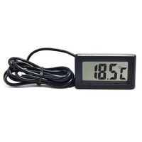 RINGDER PT-2 LCD Mini Digital Refrigerator Freezer Thermometer with Probe Price