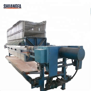 Automatic Shaking Chamber Filter Press Machine With High Working Efficiency