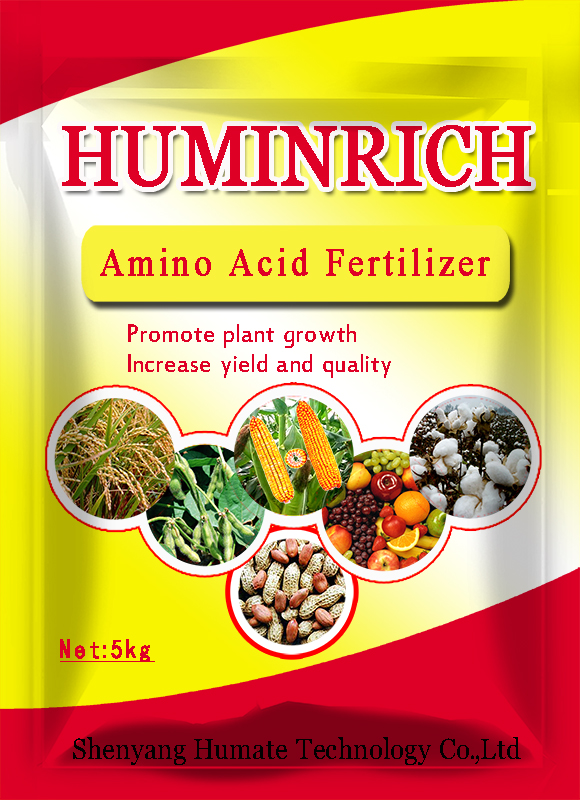 Huminrich Plant & Animal Extract Amino Acids, Humic Acid & Organic Fertilizer