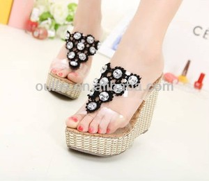 women sandals 2014 wedges fashion shoes summer dress PM2828