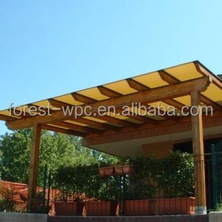 alcoba hermosa china hecho glorieta patio pergola de hormign para la venta