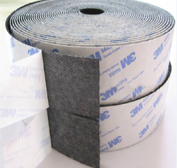 2 rolls / lot 11 cm ancho Sticky auto adhesivo gancho