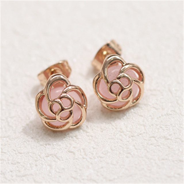 Wholesale fashion <strong>rose</strong> <strong>flower</strong> stud <strong>earring</strong>