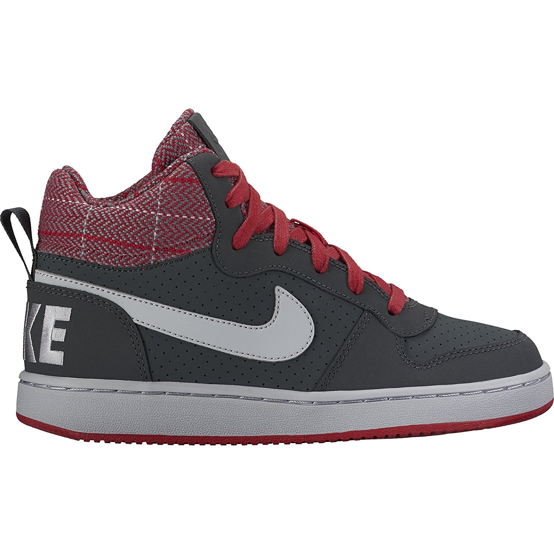 76eeb7a54ad2 Buy Nike Boys Court Borough Mid Premium Basketball Shoe in Cheap ...