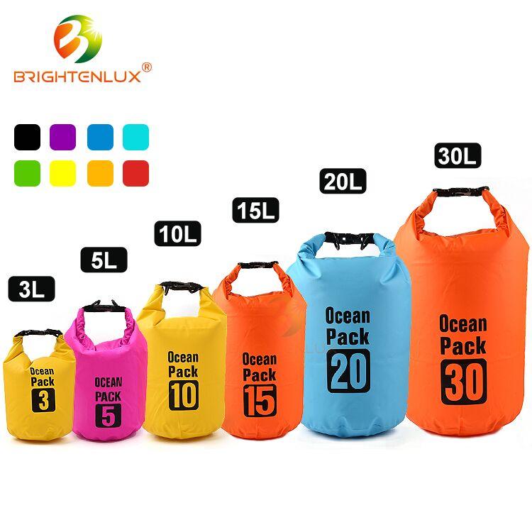 Neues Design Verstellbare Schultergurte Roll Top Wasserdichte Packsäcke für Outdoor und Wasser