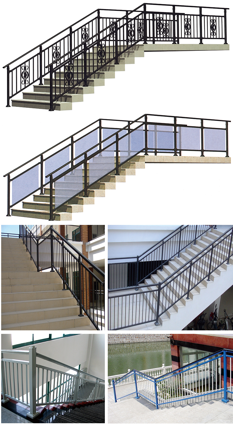 High quality interior decoration railing for balcony stair for Indoor balcony railing