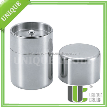 Stainless Steel ContainerJapanese Green Tea Caddy