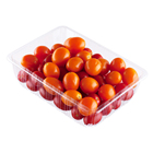 Plastic disposable packing PET pulp kiei clear vegetable for fruit tray