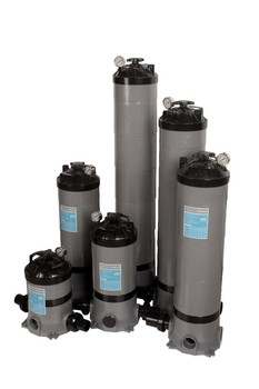Domestic Swimming Pool Spa Filter Compact Swimming Pool Filter Portable Tank Cartridge Filters