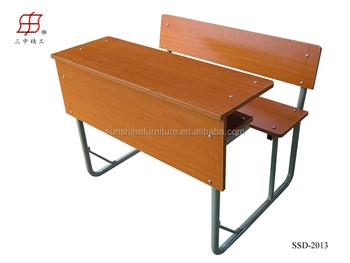 Schoolbank met stoel gebruikt schoolmeubilair te koop dubbele