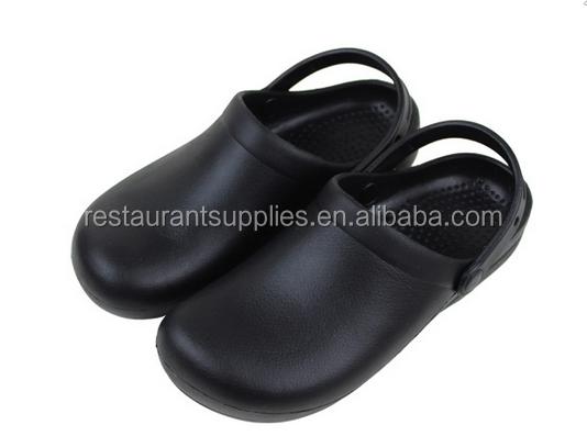 Non Slip Sepatu Chef Dapur Keselamatan Kulit Untuk Restoran