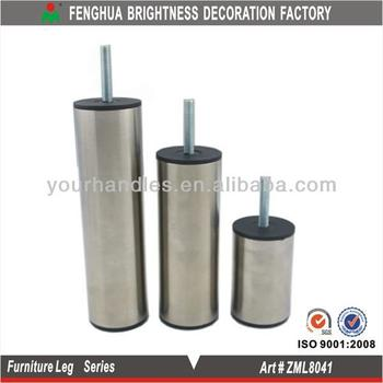 2015 Stainless Steel Cylinder Shaped Sofa Leg Buy Stainless Steel
