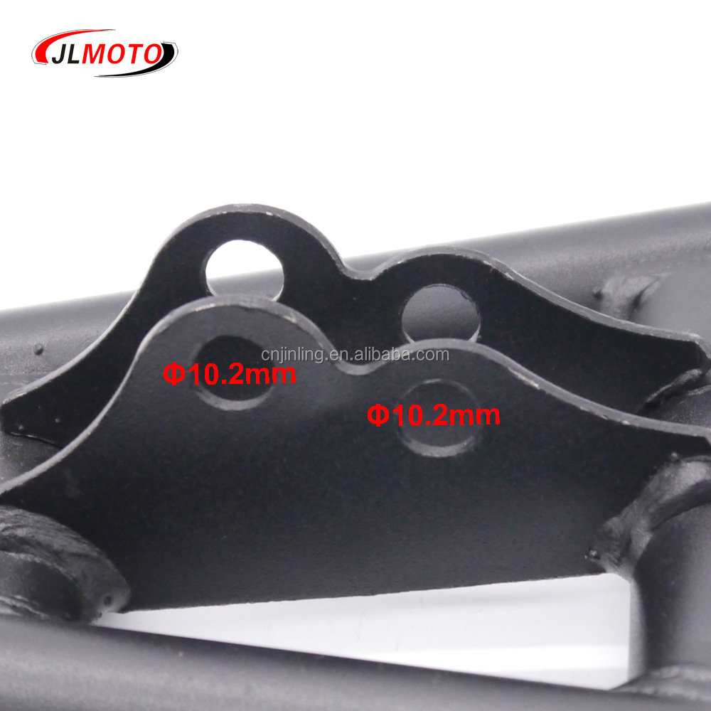 1Set Front Suspension Swingarm Upper/Lower A Arm of China 110cc GY6 150cc 200cc ATV 4 Wheels Quad Bike Buggy Go Kart Parts