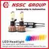 NSSC high power led headlight bulb h7 auto parts car accessories single beam bulb and high low beam bulb