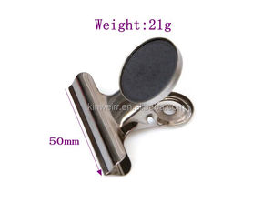 Magnet Clips with Black Flannelette for Scratch Safe