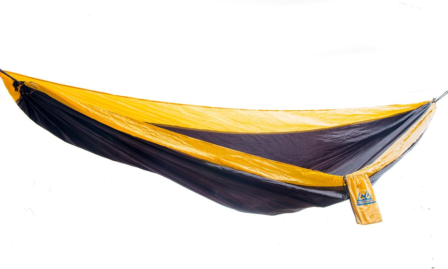 Parachute Hammock by Goodman Gear Includes Hanging Tree Straps for limited time! Best Portable Hammock for Hiking, Backpacking, Camping, Scouting, Expeditions, Backyard Relaxing and Dorm Rooms. Why Pay More Separate? Brought to You By a Top USA Outfitter and Satisfaction Is Guaranteed!