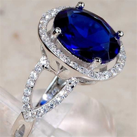 sapphire ring for women in rings wholesale