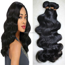 beijing human hair virgin remy human hair extension malaysian/ cambodian/mongolian/indian hair huge in stock