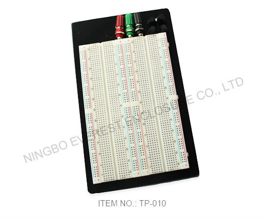 Electronic component, integrated circuit, solderless breadboard 1660 Tie-point for prototyping