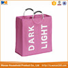 Polyester hanging hamper laundry bag,laundry basket, commercial laundry bag