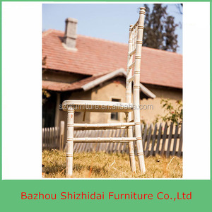 High quality Europe wood event stacking chiavari chair TC-W01