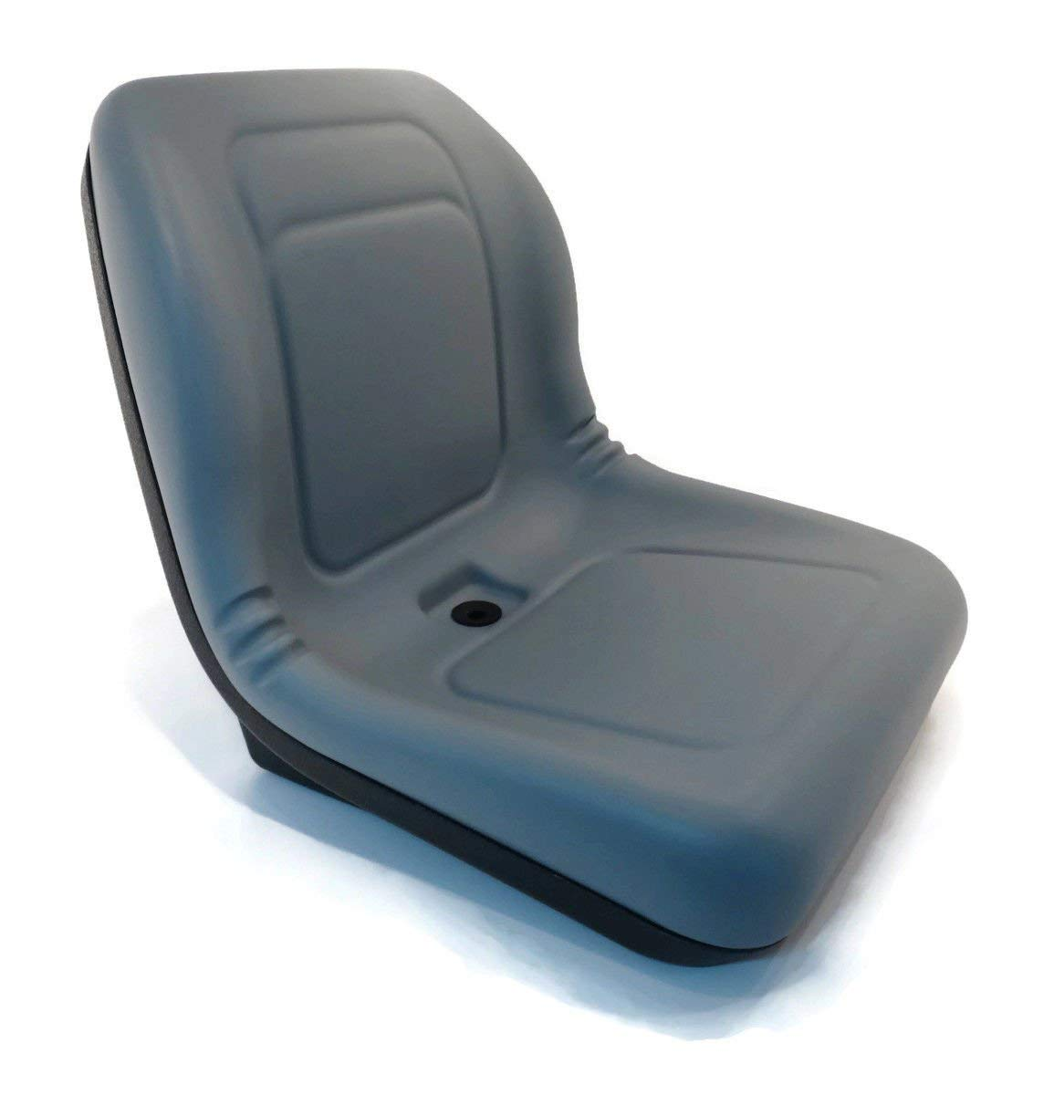 New Grey HIGH BACK SEAT for John Deere VG11696 VG12160 VGA10177 XB180 XB-180 ,,#id(theropshop; TRYK110271871626567