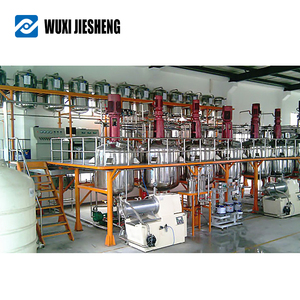 Water based production line complete paint production plant mixer
