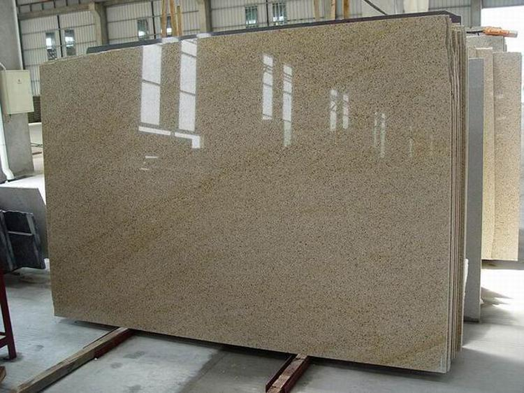 Sale custom natural stone golden crema granite slabs