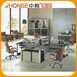 4 Person Low Price Office Modern Workstation /Office Cubicle