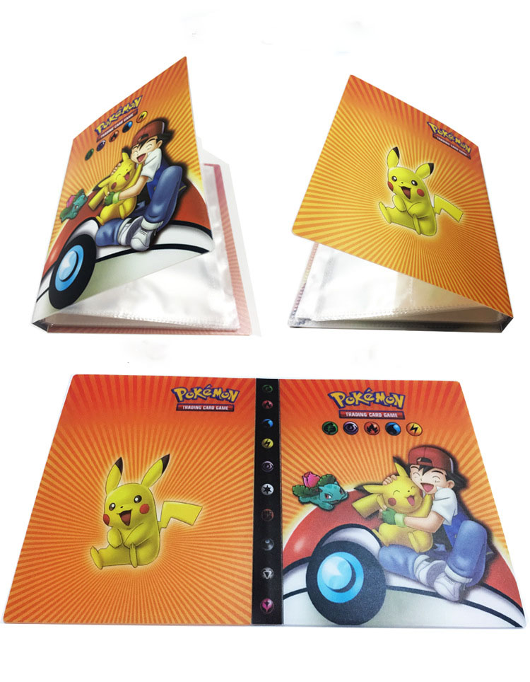 For Pokemon Card Game Art Collection Storage Book Album for Pokemon TCG Moon & Sun GX EX Cards