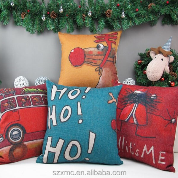 Best selling christmas gifts , christmas throw pillow, decorations in christmas