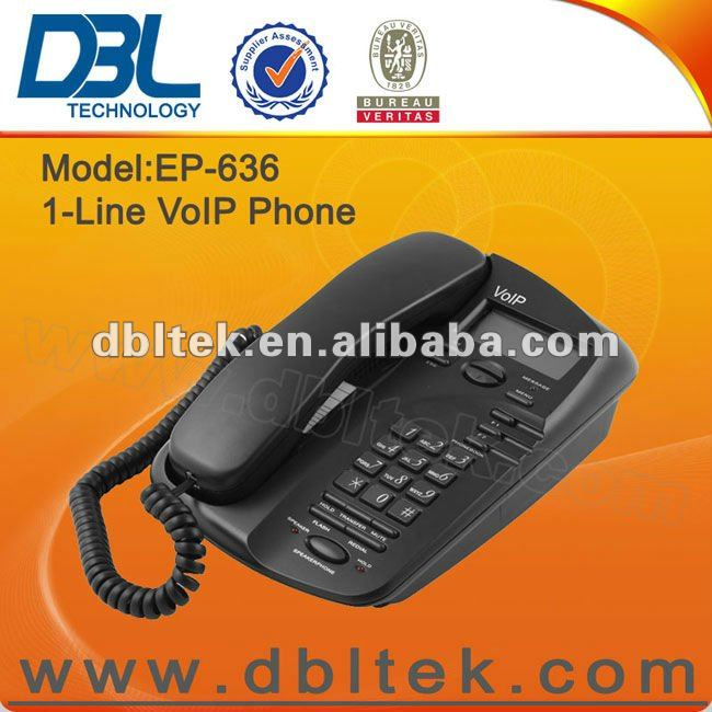 DBL Low cost VoIP SIP IP Phone EP-636