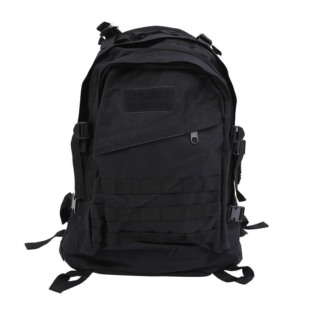 Backpack - TOOGOO(R) Outdoor 40L 600D Waterproof Oxford Cloth Military Rucksack Tactical Backpack Bag ACU Camouflage Sports Travelling Hiking Bag Black