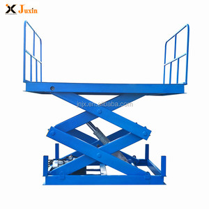 China top quality cheap price hydraulic stationary 3ton 5ton 8 ton fixed vertical scissor lift with CE ISO certification