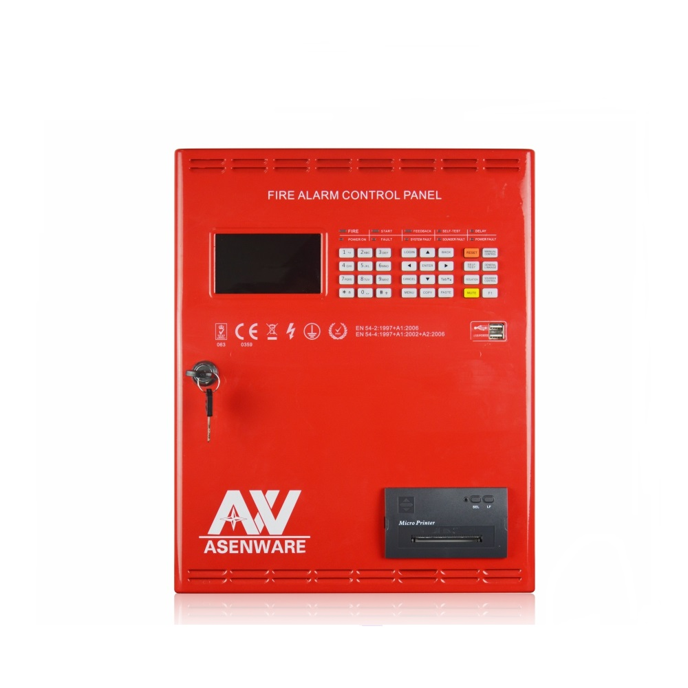 Fire Alarm Control Panel Back To Search Resultssecurity & Protection Addressable Fire Alarm Control Panel Intelligent Facp 1 Or 2 Loops Linkage Controller Optional Easy And Simple To Handle