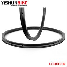 2017 YISHUN 29 er T1000 Light XC Bike ISO Rim Custom MTB 33mm ASD Offset Stiff Bicycle Carbon Rims For Sale ASD27.5-33S-SL
