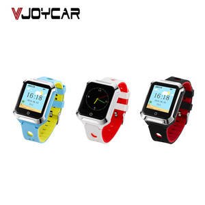 VJOY Heart Rate And Blood Pressure Elderly GPS Watch Android IOS Touch  Screen GSM Locator For Old People